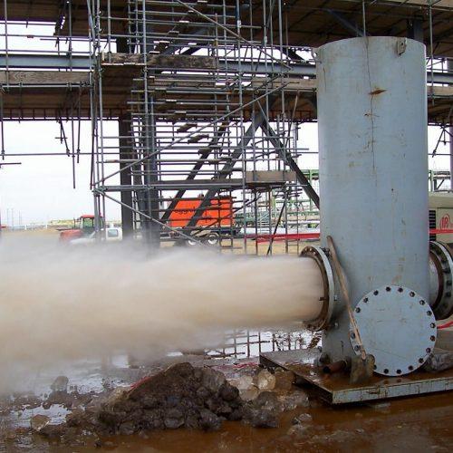 Curatare schimbatoare de caldura si conducte industriale