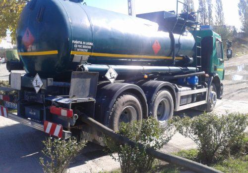 Curatare separatoare hidrocarburi